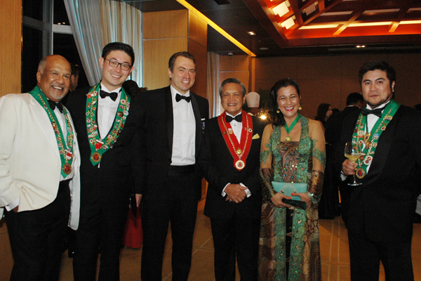 "43rd Intronisation and Gran Diner Amical ""Austro-Hungarian Dinner"""