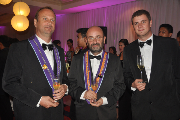 18th Induction and Gala Diner Amical