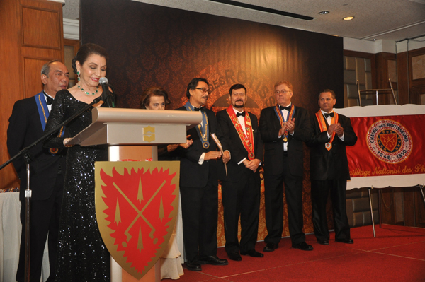 19th Induction and Diner Amical