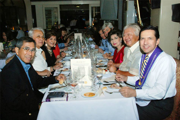 Charity Dinner for Sisters of Mary School