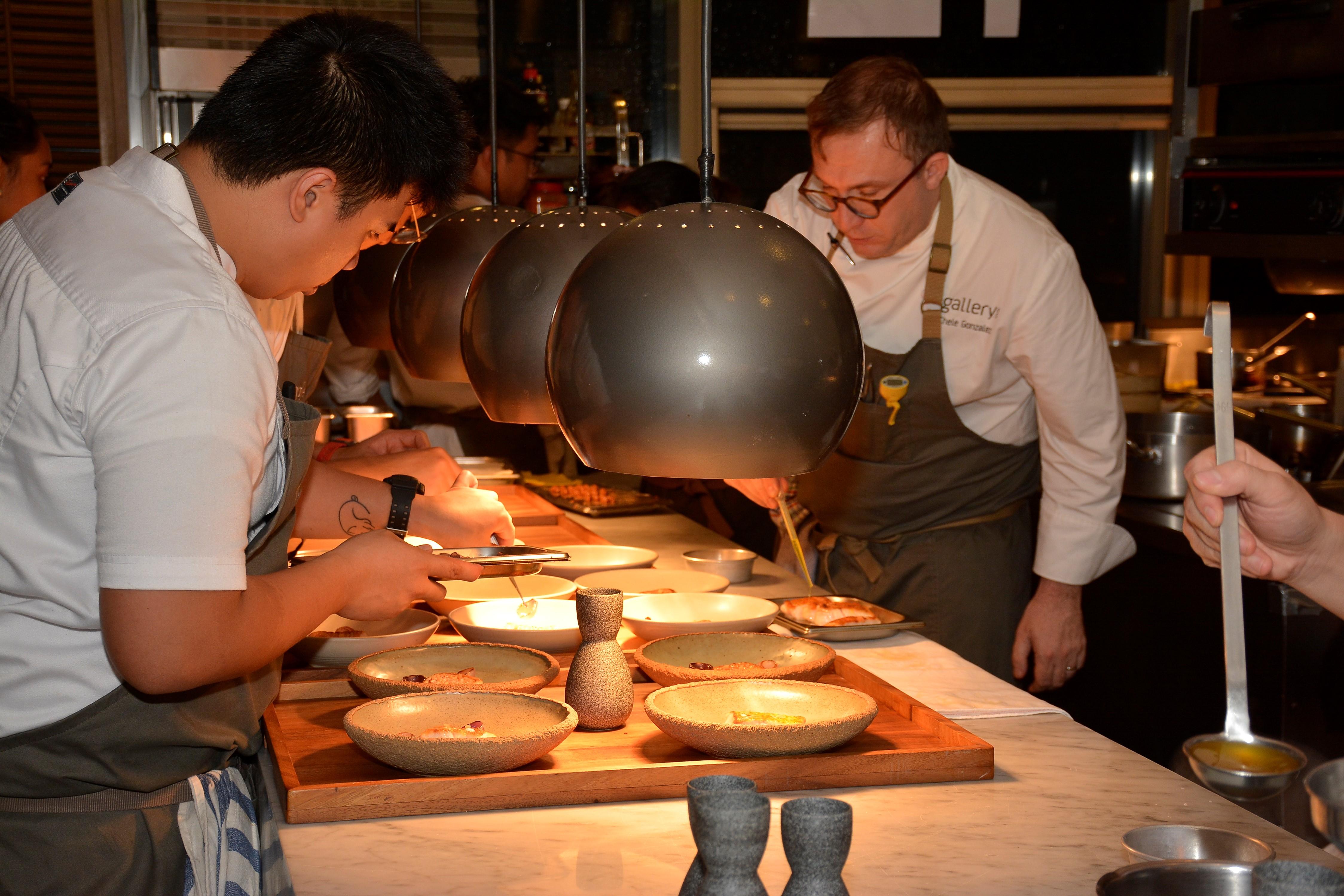 SEAFOOD DEGUSTATION DINNER