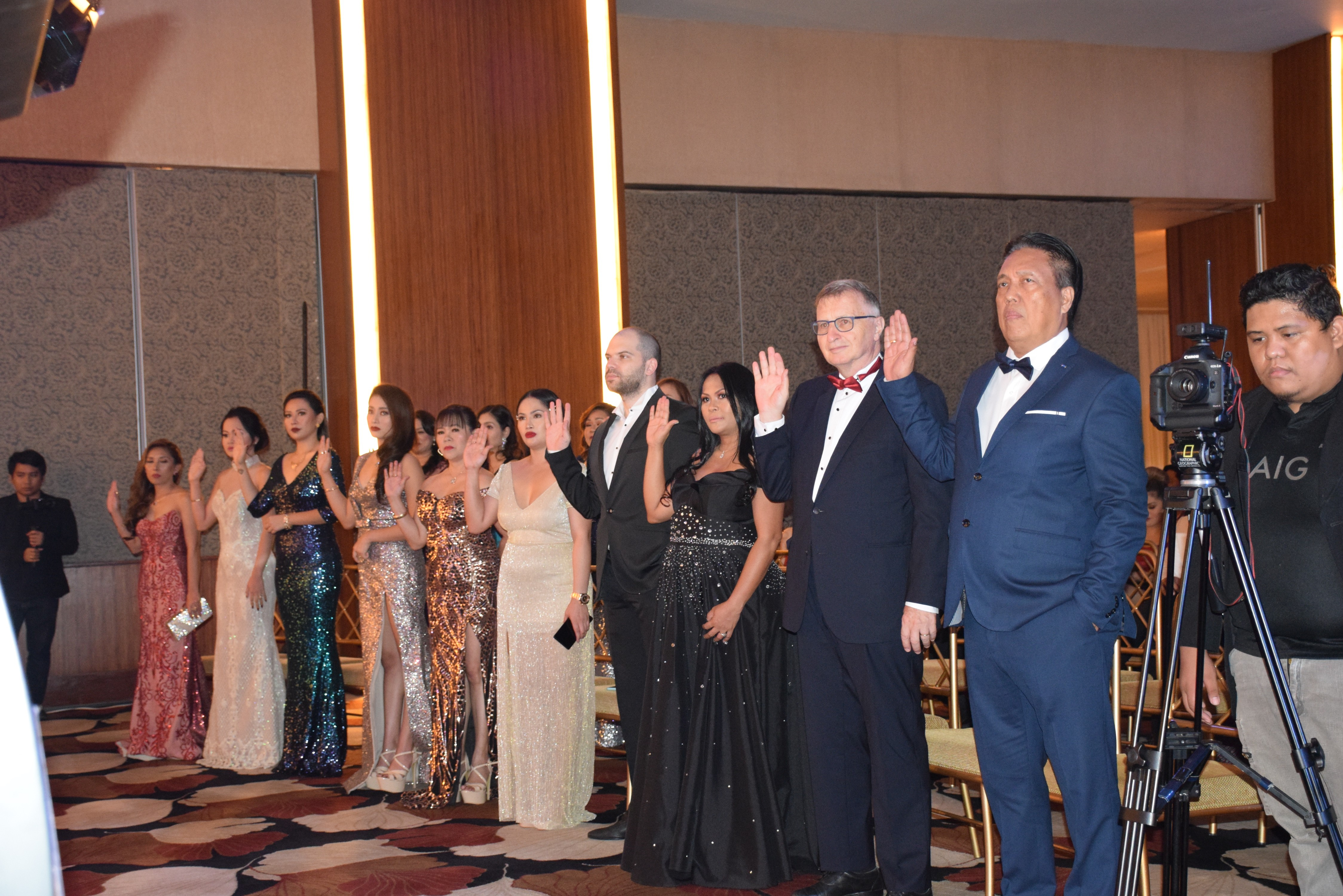 "Bailliage de Cebu 26th Induction and Grand Diner Amical ""Las Vegas"""